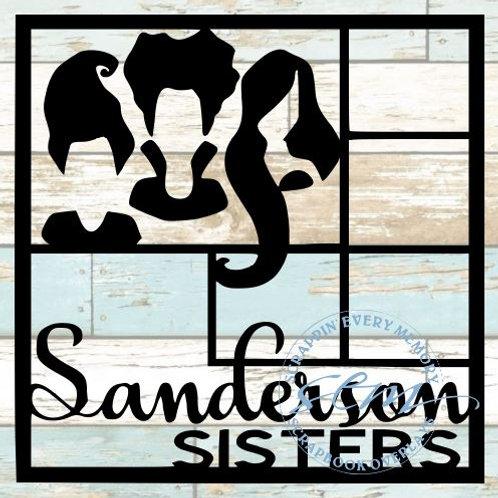 Sanderson Sisters Scrapbook Overlay