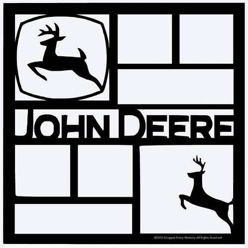 John Deere Scrapbook Overlay