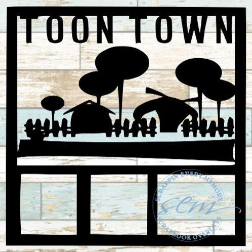 Toon Town Scrapbook Overlay