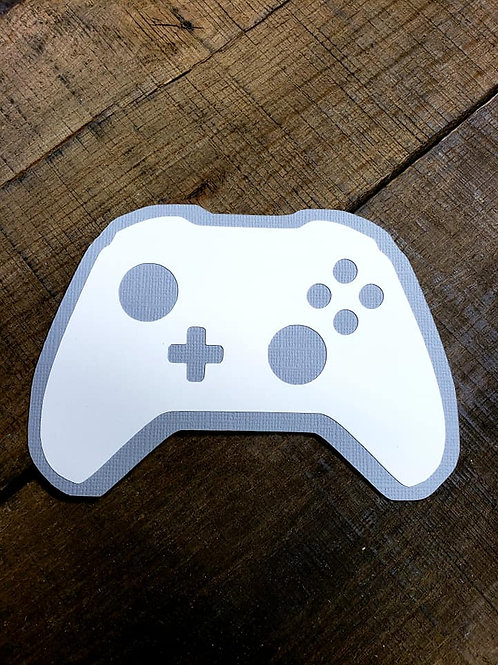 Gaming Controller Paper Piecing Die Cut