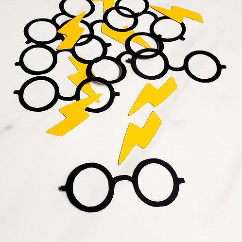 Harry Potter Scrapbook Page Confetti