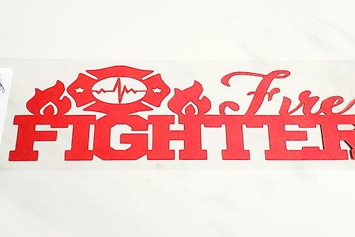 Fire Fighter Scrapbook Deluxe Die Cut