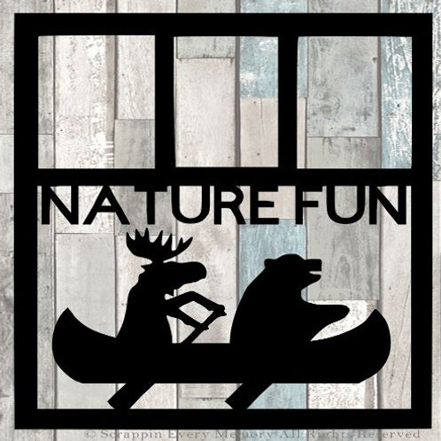 Nature Fun Scrapbook Overlay