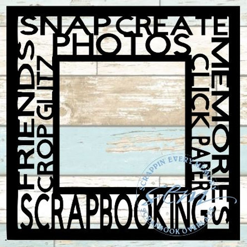 Scrapbooking Tag Text Scrapbook Overlay