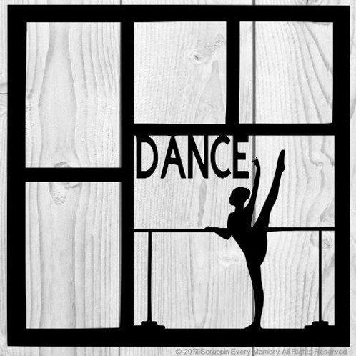 Dance Scrapbook Overlay