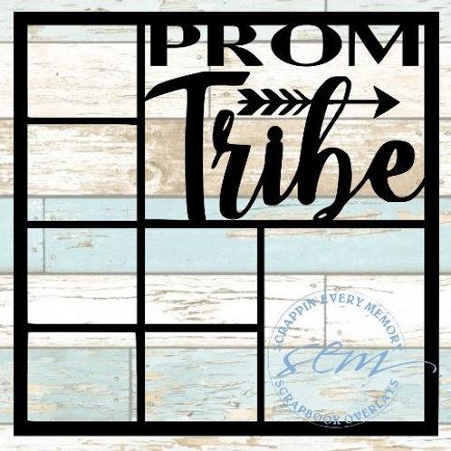Prom Tribe Scrapbook Overlay