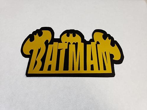 Batman Paper Piecing Die Cut