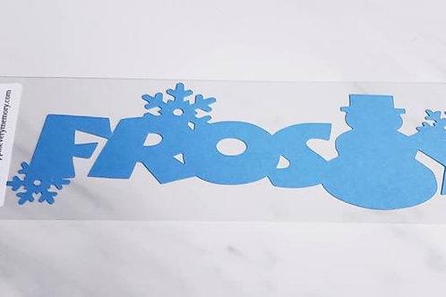 Frosty Scrapbook Deluxe Die Cut