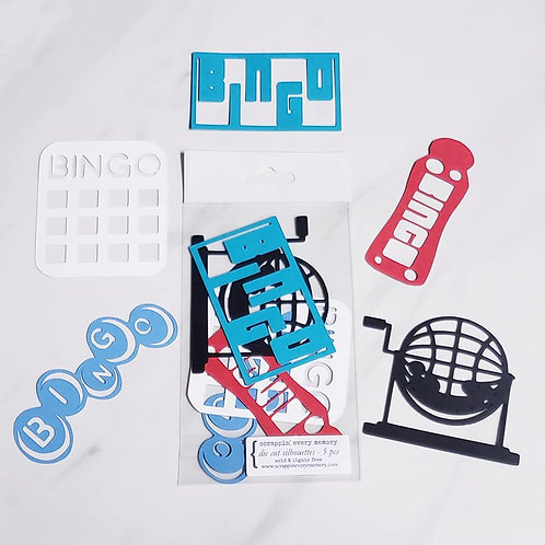 Bingo Die Cut Silhouette Mini Set