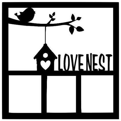 Love Nest Scrapbook Overlay