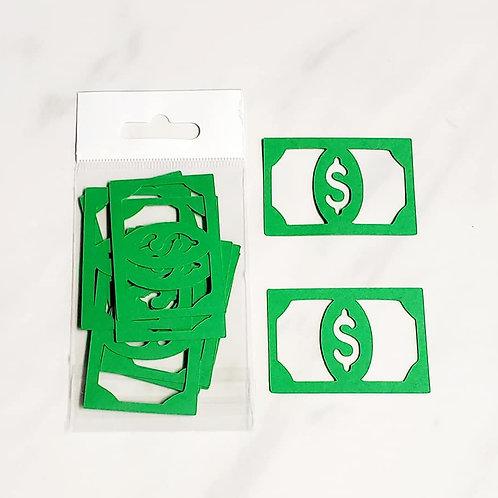 Money Itsy Bitsy Embellishments