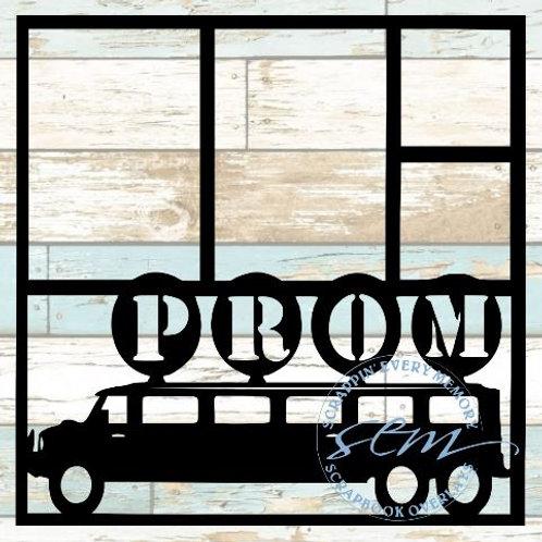 Prom Limo Scrapbook Overlay