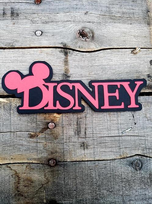 Disney Paper Piecing Die Cut