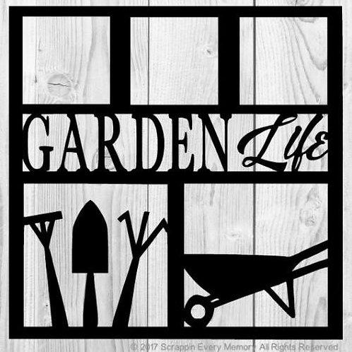 Garden Life Scrapbook Overlay