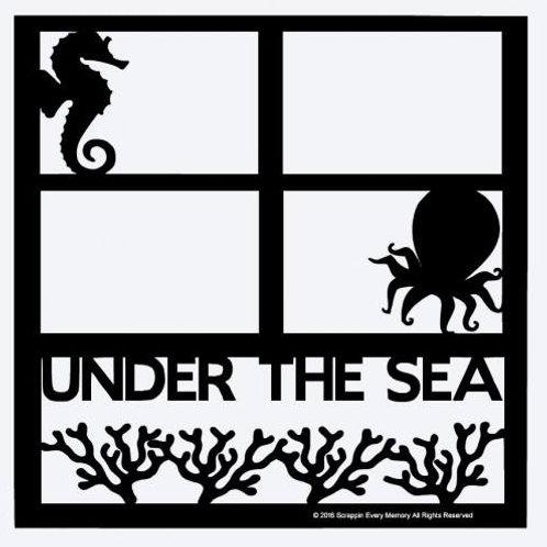 Under The Sea Scrapbook Overlay