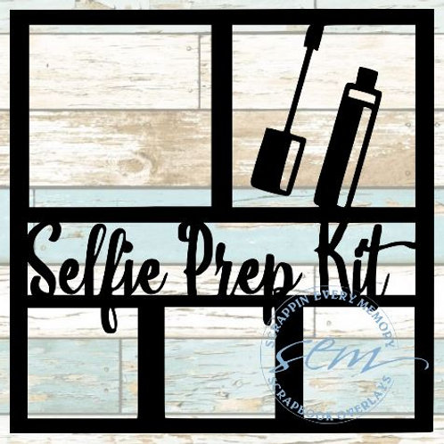 Selfie Prep Kit Scrapbook Overlay
