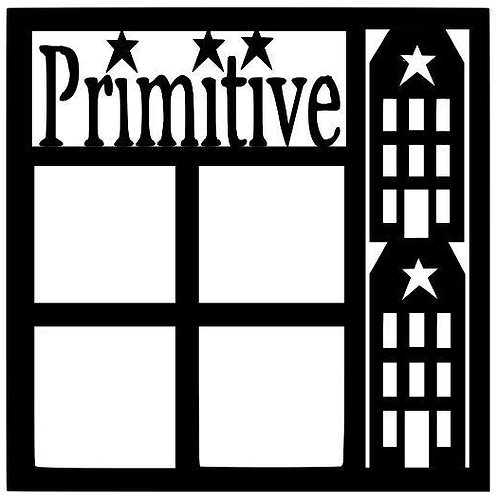 Primitive Scrapbook Overlay
