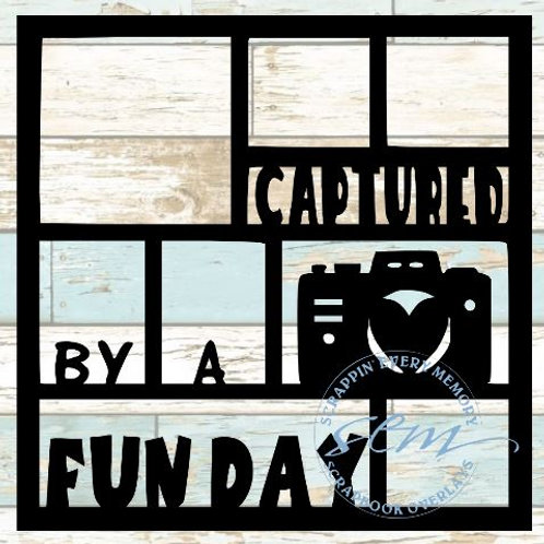 Captured By A Fun Day Scrapbook Overlay