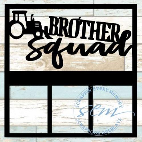 Brother Squad Scrapbook Overlay