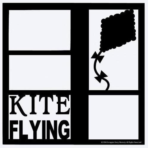 Kite Flying Scrapbook Overlay