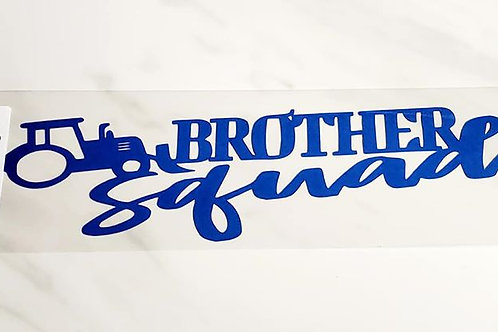Brother Squad Scrapbook Deluxe Die Cut