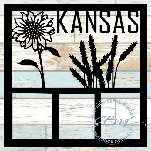 Kansas Scrapbook Overlay