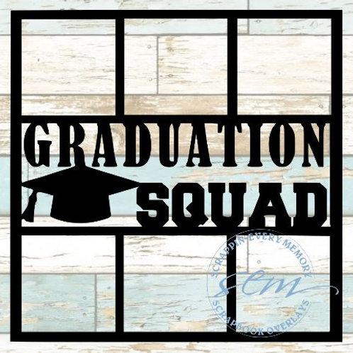 Graduation Squad Scrapbook Overlay
