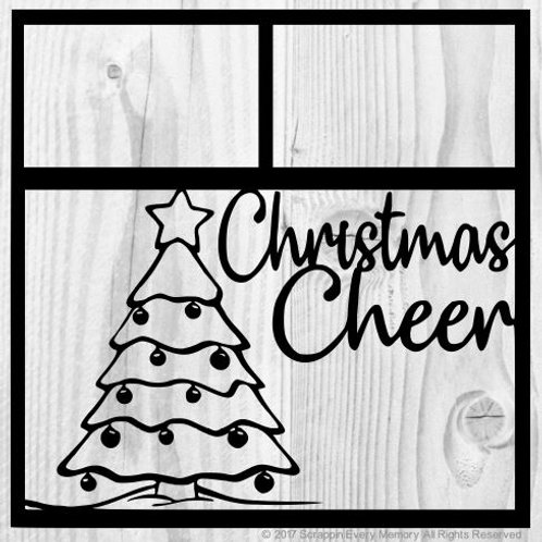 Christmas Cheer Scrapbook Overlay