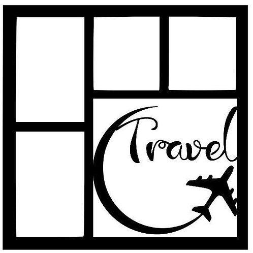 Travel Scrapbook Overlay