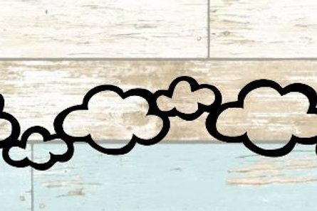 Clouds Scrapbook Border