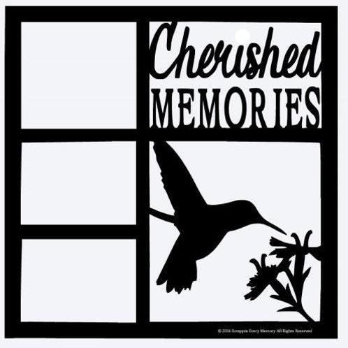Cherished Memories Scrapbook Overlay