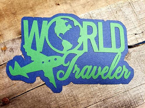 World Traveler Paper Piecing Die Cut