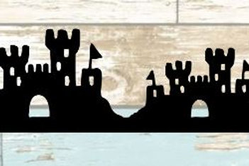 Sand Castles Scrapbook Border
