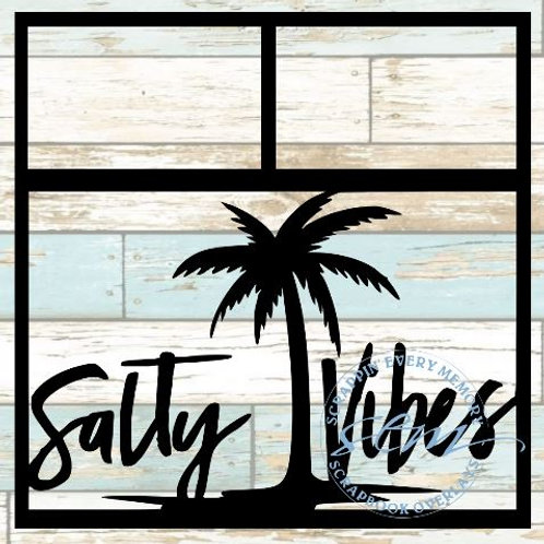 Salty Vibes Scrapbook Overlay