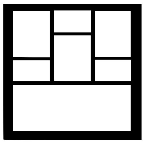 Frame 424 Scrapbook Overlay