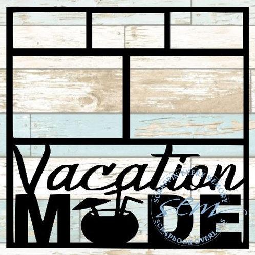 Vacation Mode Scrapbook Overlay