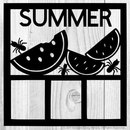 Summer Scrapbook Overlay
