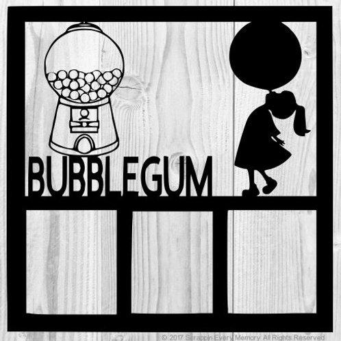 Bubblegum Scrapbook Overlay