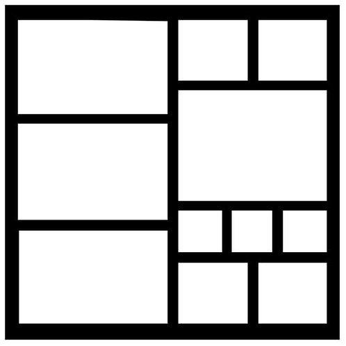 Frame 018 Scrapbook Overlay