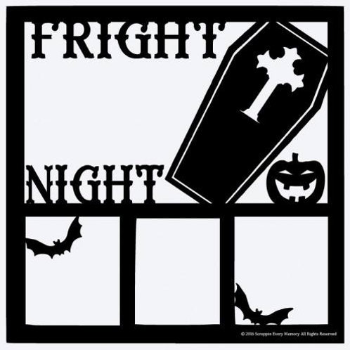 Fright Night Scrapbook Overlay