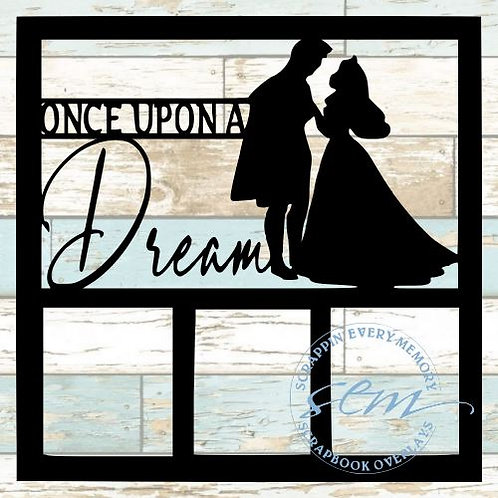 Once Upon A Dream Scrapbook Overlay