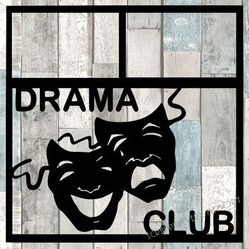 Drama Club Scrapbook Overlay