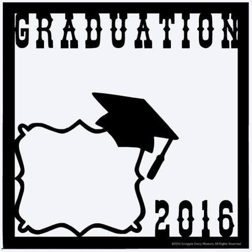 Graduation 2016 Scrapbook Overlay