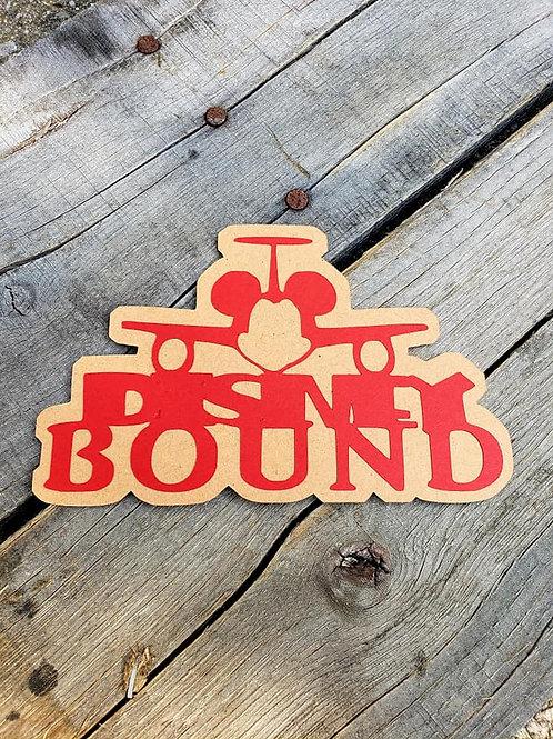 Disney Bound Paper Piecing Die Cut