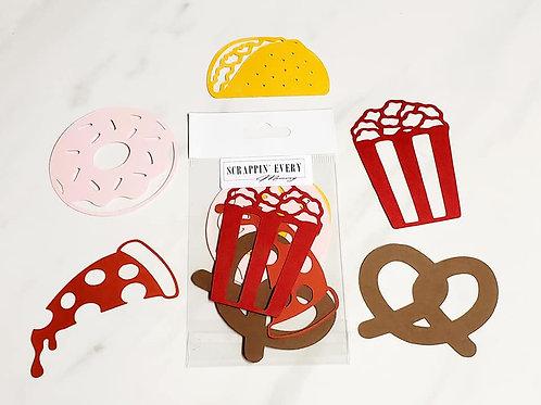 Food / Snacks Die Cut Silhouette Mini Set