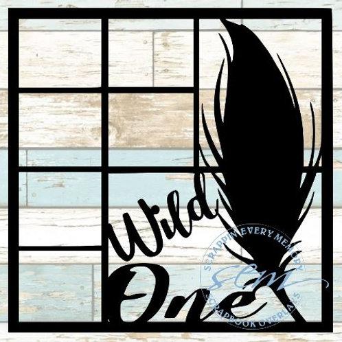Wild One Scrapbook Overlay