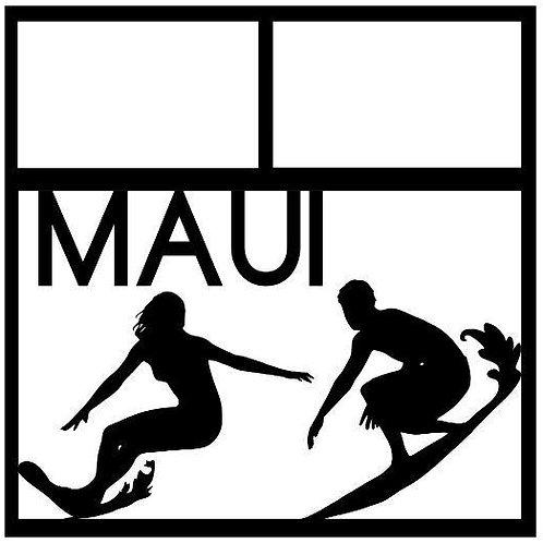 Maui Scrapbook Overlay