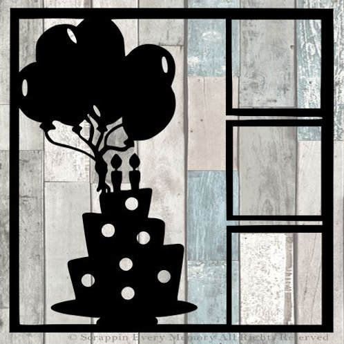 Birthday Scrapbook Overlay