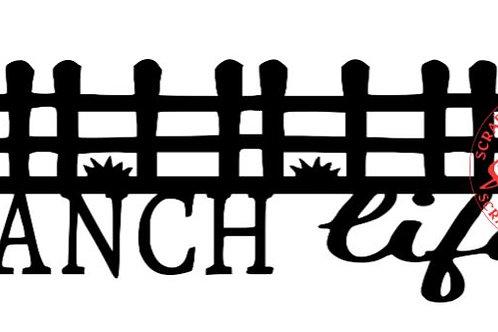 Ranch Life Scrapbook Border