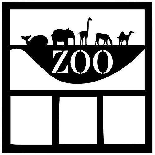 Zoo Scrapbook Overlay